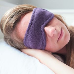 Cashmere Eye Mask - frequent travellers