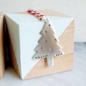 Personalised Christmas Tree Decoration - home accessories