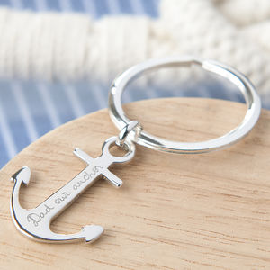 Personalised Anchor Key Ring