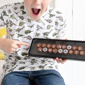Personalised Days On Earth Birthday Chocolates - 40th birthday gifts