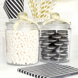 Glass Cookie Storage Jar - jars