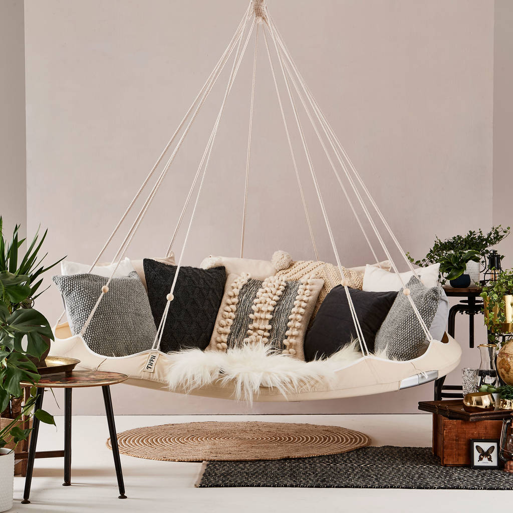 Indoor And Outdoor Hanging Chair By Lime Lace