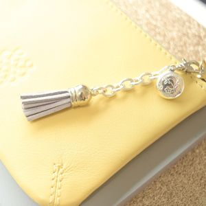 Mini Tassel And Locket Keyring Or Bag Charm - bags