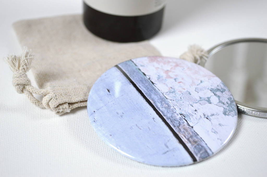 Abstract Pocket Mirror
