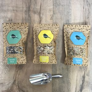 Summer Bird Seed Gift Box