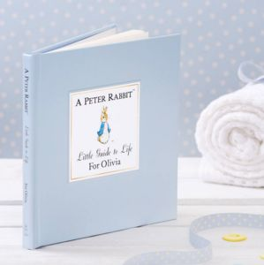 Personalised Peter Rabbits Little Guide To Life - books