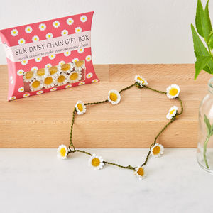 Gift Box Of 20 Silk Daisies - hair care accessories