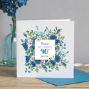 40th Birthday Floral Card