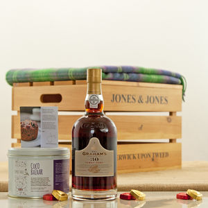 Graham's 30 Year Old Port Luxury Gift Hamper - food hampers