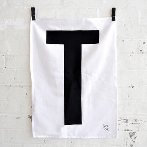 'T' Towel - minimal home