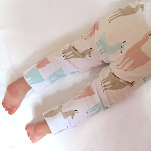Organic Llamita Leggings - baby shower gifts