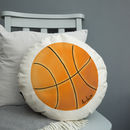 Personalised Sports Balls Cushion