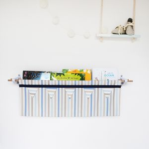 Stripe Book Sling Storage - whatsnew