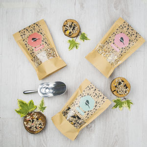 Vegetarian Bird Seed Gift Box - bird feeders