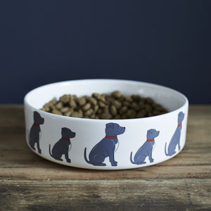 Staffie / Staffordshire Bull Terrier Dog Bowl