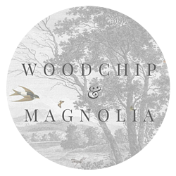 woodchip and magnolia