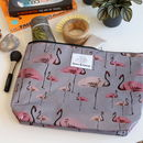Flamingo Party Large Toiletry Bag