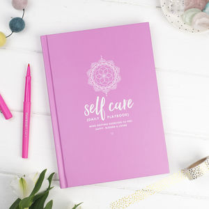 Self Care Daily Playbook - writing