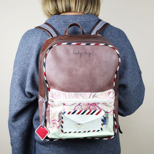 Paper Plane Backpack - bags, purses & wallets