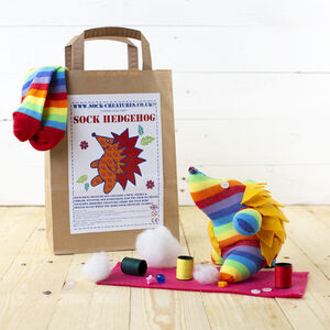 Sock Hedgehog Craft Kit
