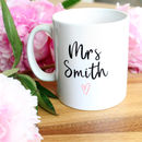 Personalised Teacher Thank You Mug