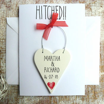 Red Ribbon & Heart Motif