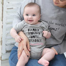Personalised Family 'Squad Goals' Bodysuit