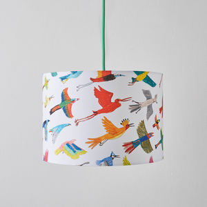 Colourful Birds Lampshade - lampshades