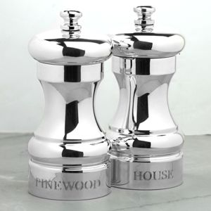 Silver Pepper And Salt Mill - home wedding gifts