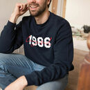 Men's Personalised Legend And 'Year' Sweatshirt