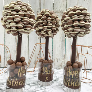 Personalised Malteser Chocolate Edible Tree - personalised gifts