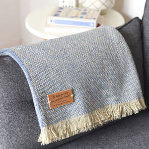Personalised Blanket Or Throw - blankets & throws