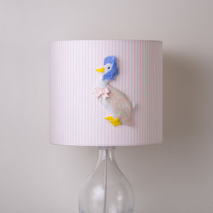 Jemima Puddle Duck™ 3D Handmade Lampshade - lighting