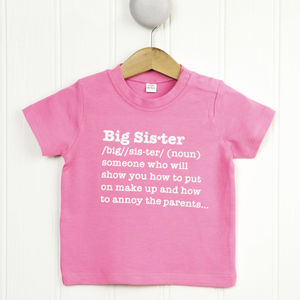 Big Sister Definition T Shirt