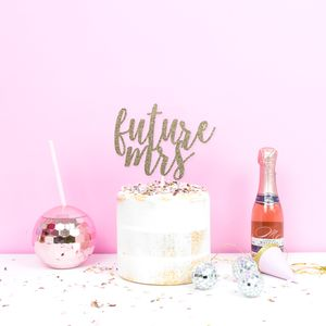 Future Mrs Hen Party Cake Topper Decoration
