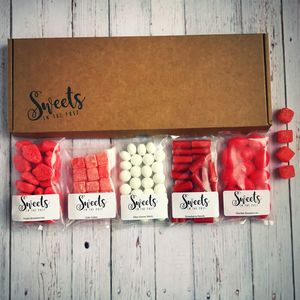 Romance Letterbox Sweets Gift Box - personalised