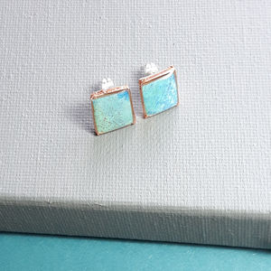 Square Studs - earrings