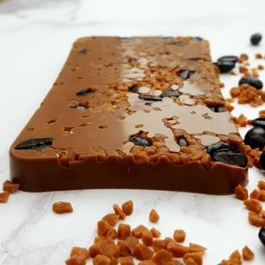 The Salted Caramel Mocha Chocolate Slab Gift - chocolates & confectionery