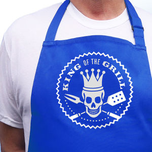 Mens Apron King Of The Grill