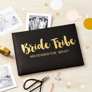 Personalised Hen Night Photo Album Memory Book - albums & guest books