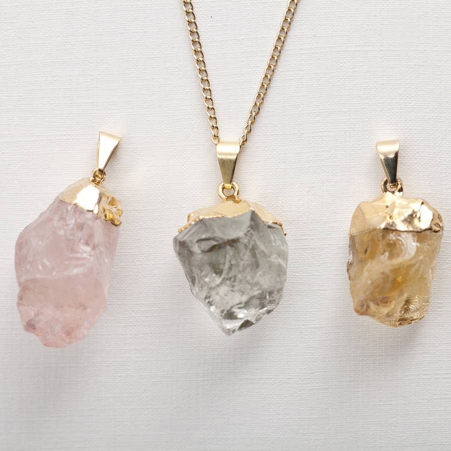 chakra raw il her sfzc for heart necklace gift fullxfull kunzite crystal pink stone listing