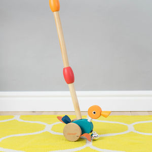 Push Along Duck - toys & games