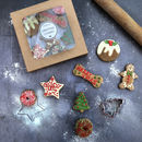 Christmas Dog Cookie Selection Box