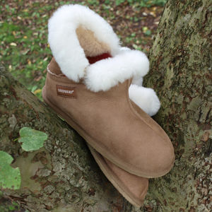 Bella Sheepskin Slippers