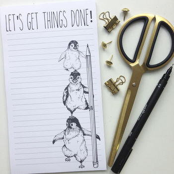 Let's Get Things Done Notepad