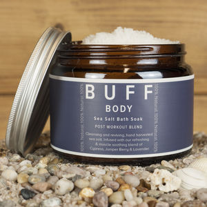 Buff Body Post Work Out Blend Sea Salt Bath Soak 500g