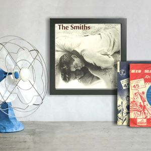 Original Smiths And Morrissey Framed Record Covers - music