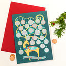 Advent Scratch And Reveal Greeting Card