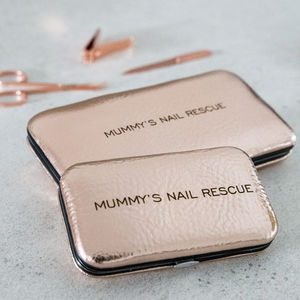 'Mummy's Nail Rescue' Ladies Manicure Set