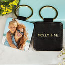 Personalised Photo Message Keyring